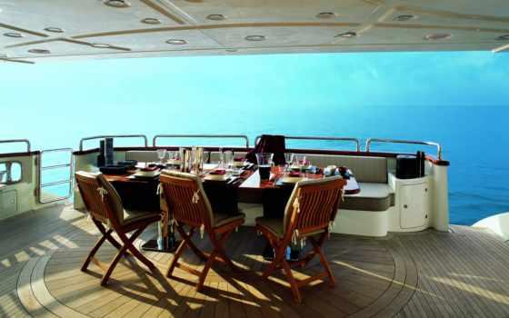 море, relax, отдых, горизонт, взгляд, яхта, landscape, lux, балкон, терасса,