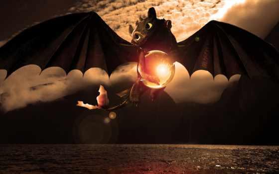 дракона, приручить, беззубик, поезд, how, fury, ночная,
