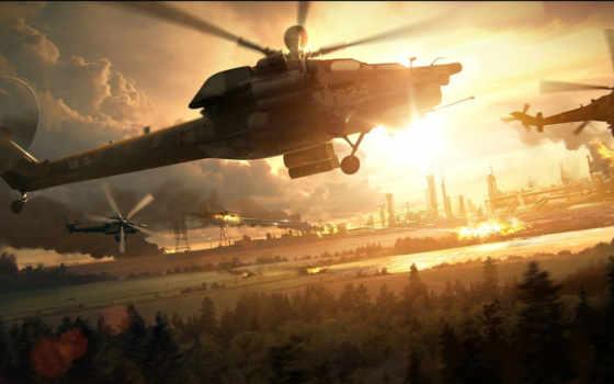 вертолёт, авиация