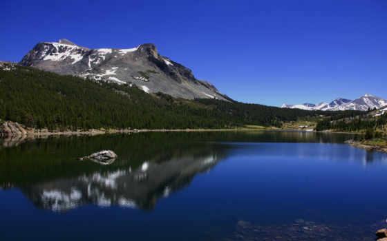 озеро, горы Фон № 8930 разрешение 1920x1080