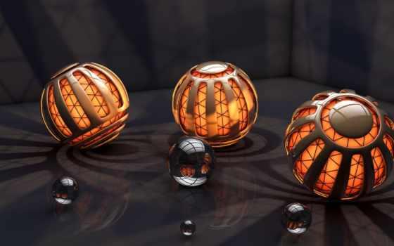 шары, свет Фон № 20638 разрешение 2560x1440