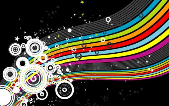 abstract, sparkly, rainbow, circles, ipad, bright, twitter, stripes,