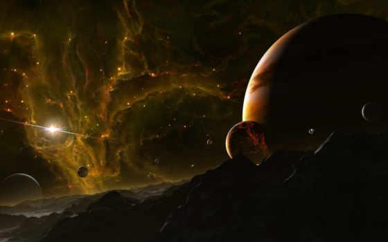 kosmos, планеты, поверхность Фон № 61370 разрешение 1920x1080