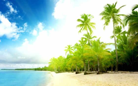 море, sun, пляж Фон № 80208 разрешение 1920x1200