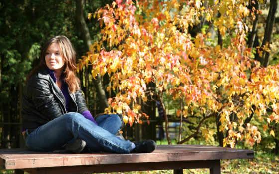 осень, девушка, devushki Фон № 85175 разрешение 2560x1600