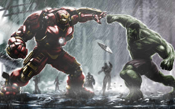 avengers, hulk, мужчина