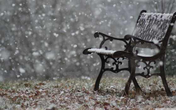 snowy, скамейка, mobdecor