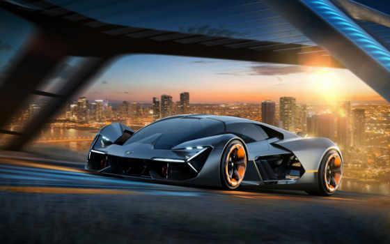 lamborghini, представила, terzo, millennio, concept, будущего, суперкар, электромобиль, company, ламборгини,