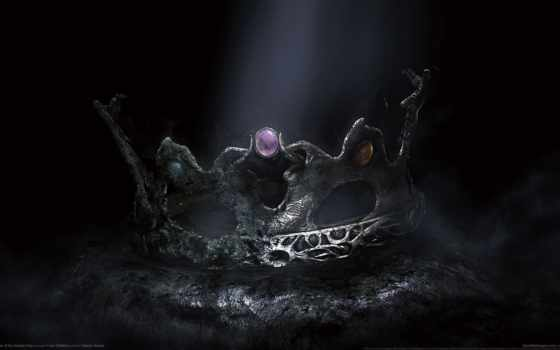 crown, king, dark, souls, sunken,