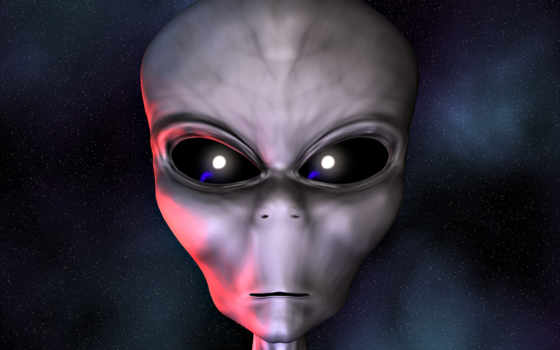 alien, face