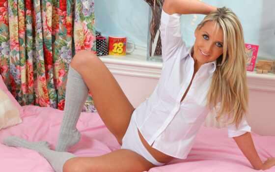 занавески, кровать, графика, белье, фетиш, manxxl, рубашка, нижнее, blonde,