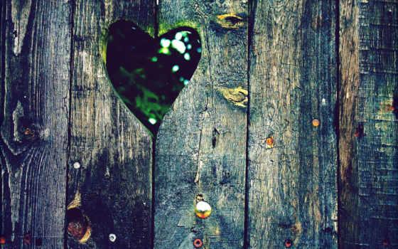 разное, забор, сердце