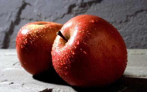 apple, яблоки, яблок, капли, отражение, красивые, широкоэкранные, широкоформатные, alma, moreover,