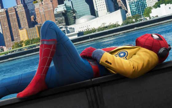 паук, мужчина, домой, return, homecoming, понравилось, смотреть, online, peter,