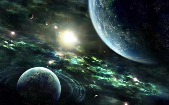 space, планеты Фон № 24557 разрешение 1920x1200