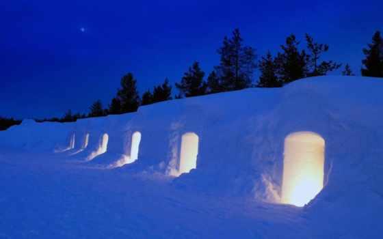 kakslauttanen, igloo, финляндия, illuminated, lapland, getty, images, stock, деревня, фото, foto,