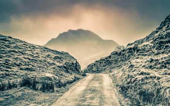 туман, тропинка, photos, flickr, top, nant, towards,