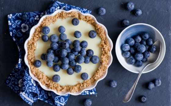 черника, еда, ягоды, пирог, выпечка, табличка, кексе, smartphone, нож, картинка,
