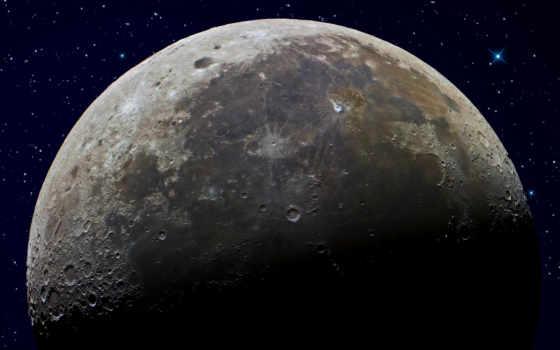 cosmos, луна, land, космоса, луне, спутник, космос, луны, но, земли,