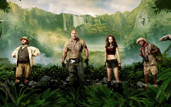 jumanji, jungle, пожаловать, game, movie,