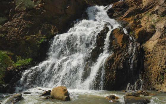 водопад, animals, video, бесплатных, камням, самых, качественных,