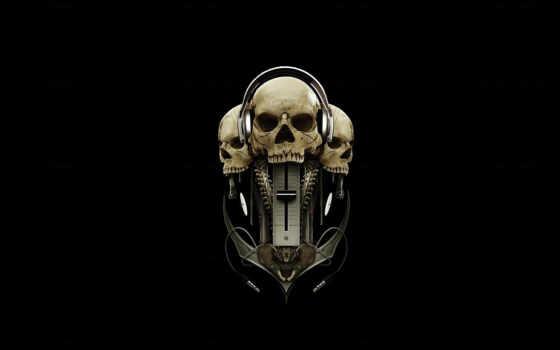 наушники, черепа, черный, nokia, пиратская, станция, iphone,