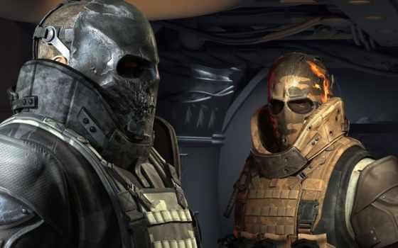 два, армия, маски