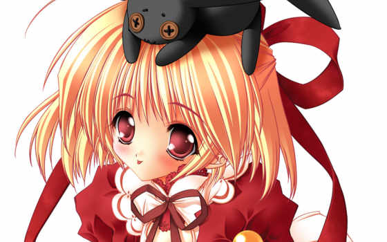 anime, девушка, cute