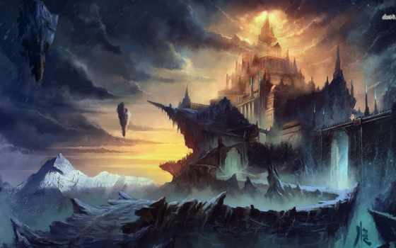 fantasy, world, artwork,
