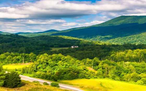 appalachian, mountains, landscape