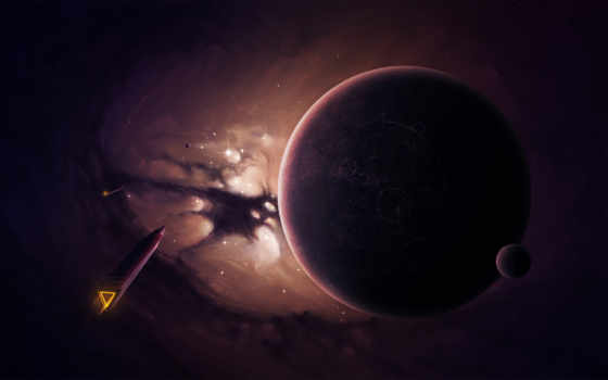 spaceships, planet