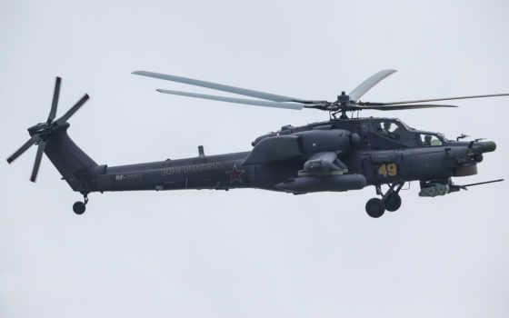 , вертолет, Ми-28, полет,