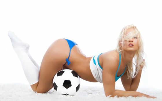 футбол, девушки, мяч