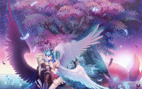 anime, фэнтези, love