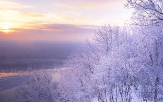 winter, desktop, природа, снег, встречать, фотоэффекты, free, landscape,