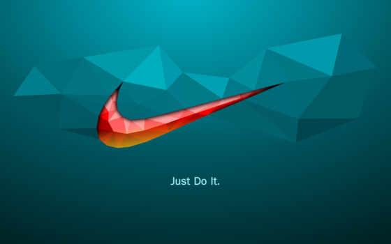 design, logo, low, poly, graphic, креатив, nike,