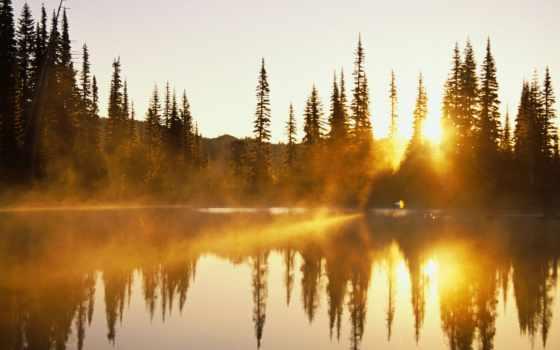 озеро, lakes, photography, trees, природа, water, отражение, небо, дерево,