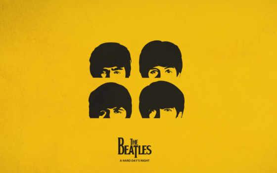 beatles, желтый