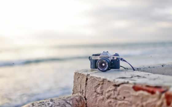 фотоаппарат, tech, пляж