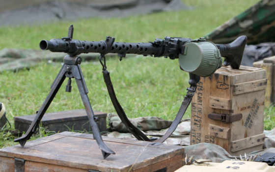 пулеметы, армия, немецкой, пистолет,