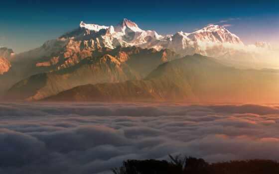 nepal, место, travel, honeymoon, посещение, следования, город, Покхара, trek, гора, west