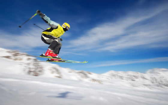 skiing, hd