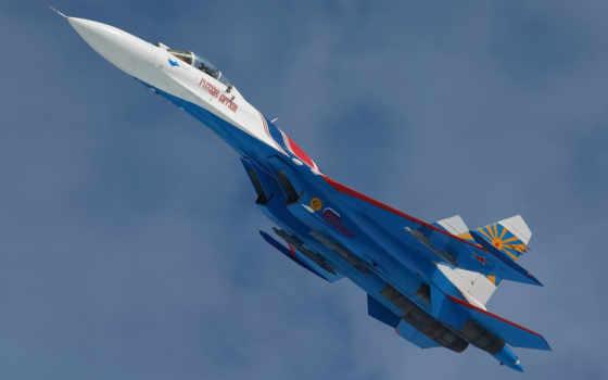 Су-27, самолет, полет