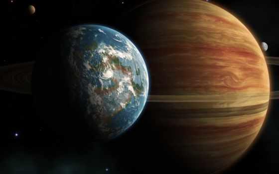 planet, land, юпитер, cosmos, материки, кольца, планеты, сатурн,