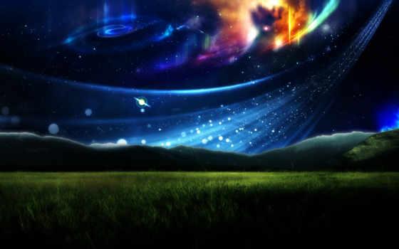 красивые, звезды, blue, очень, поток, телефон, pic,