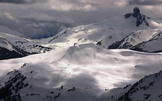 mountains, канадский, прохождение, портфель, гора, горы,