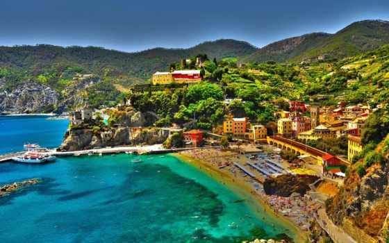 monterosso, mare, аль, italy, latest, terre, cinque, самый, villages,