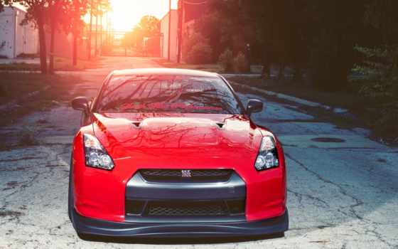 nissan, gtr, cars, red, desktop,