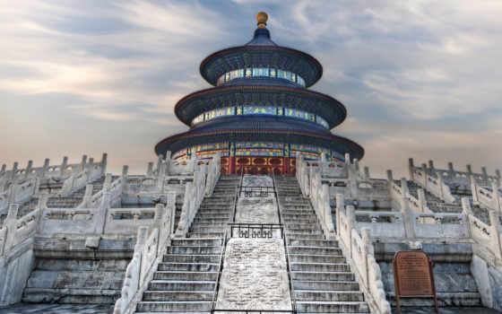храм, китаянка, heaven