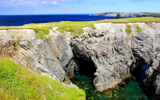 пещера, море, bonavista, park